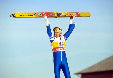 Calgaryn olympialaisissa Matti iski kultasuoneen.