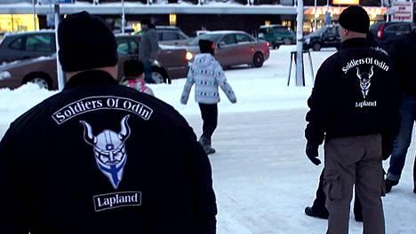 Soldiers of Odin -järjestö perustettiin viime lokakuussa Kemissä. Järjestö toimii yli 20 paikkakunnalla.
