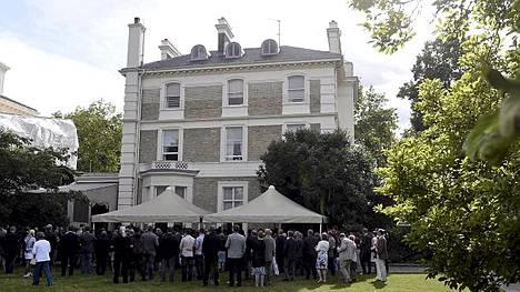 Tältä näyttää Suomen Lontoon-suurlähetystö.