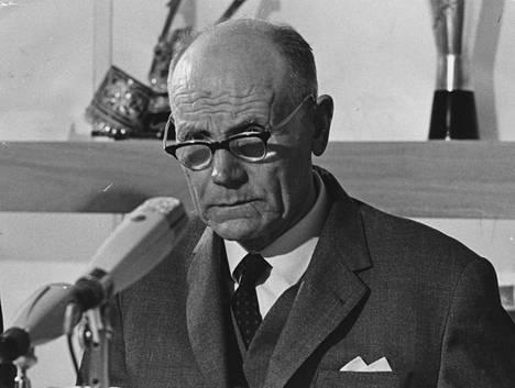 Paavo Nurmi kuoli 76-vuotiaana lokakuussa 1973.