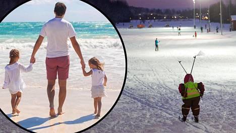 Ulkomaalaistaustainen eronnut isä on Suomessa monien vaikeiden kysymysten edessä – jäädä vai lähteä? Kuvituskuva.