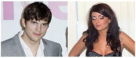 Ashton Kutcher ja väitetty rakastajatar Brittney Jones