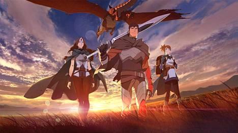 Dota 2:n animesarjan päähahmo on lohikäärmeritari Davion. Sarjassa on luvassa taisteluja niin lohikäärmeitä kuin demoneita vastaan.
