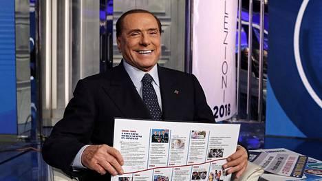 Entinen pääministeri Silvio Berlusconi on tunnettu paitsi äveriäisyydestään, mutta myös seksiskandaaleistaan ja naisia alentavista lausunnoistaan.