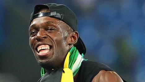 Usain Boltia hymyilytti Riossa hammastulehduksesta huolimatta.