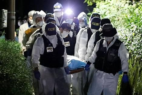 Pormestarin ruumis löydettiin noin seitsemän tuntia etsintöjen aloittamisen jälkeen.