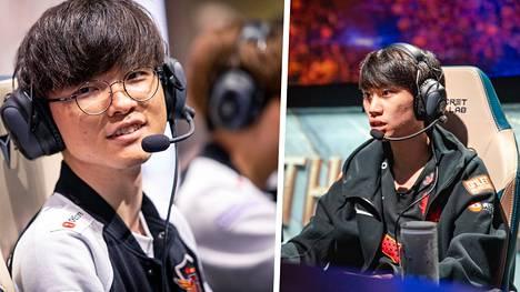 League of Legends -maailmanmestarit Lee Sang-hyeok ja Kim Tae-sang kertovat molemmat harjoittelevansa hurjia määriä.