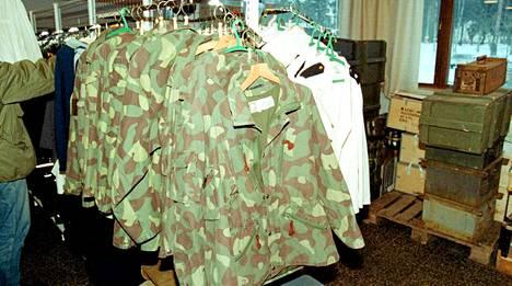 Puolustusvoimat Vaatteet