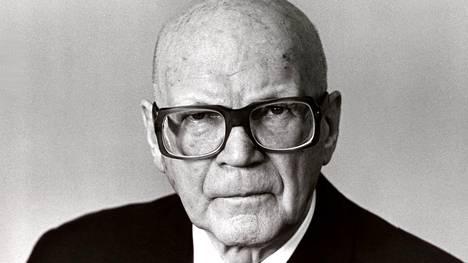 Presidentti Kekkonen tunnettiin kovana urheilumiehenä.