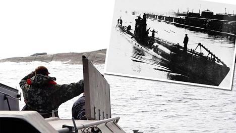 UC-57 toi 4000 kilon räjähdysainelastin ja kahdeksan jääkäriä Hamnskärin kalliosaarelle Loviisan edustalle 17. marraskuuta 1917.