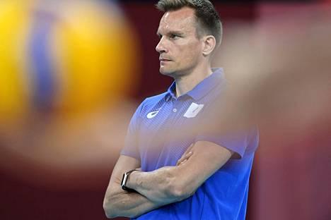 Tuomas Sammelvuo valmensi Venäjän olympiakomitean joukkueen Tokion olympialaisissa kesällä hopealle.