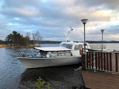 UPM:n edustusvene Vellamo.