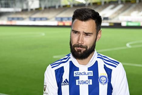 Tim Sparv teki HJK:n kanssa 1+1-vuotisen sopimuksen.