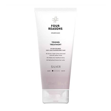 Four Reasons Color Mask Toning Treatment -hiusnaamio, sävy Silver, 19,50 €.
