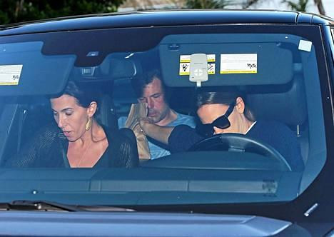 Jennifer Garner ajoi itkuisen Affleckin vieroitukseen.
