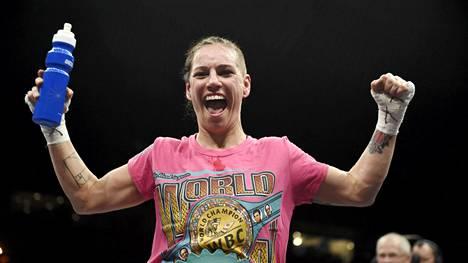 Eva Wahlström piti kiinni maailmanmestaruudestaan.