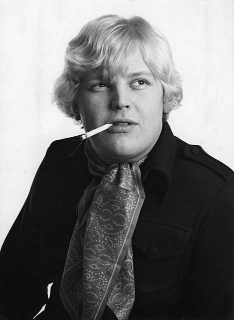 Nuori laulaja vuonna 1970.