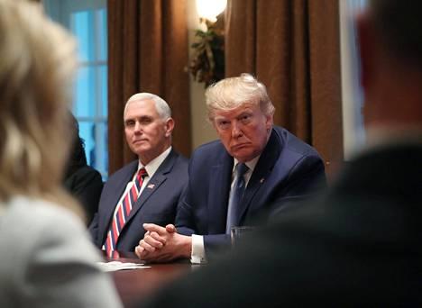 Varapresidentti Mike Pence on yksi harvoista Trumpin hallinnon alkuperäisistä ydinjäsenistä, jotka ovat edelleen mukana.