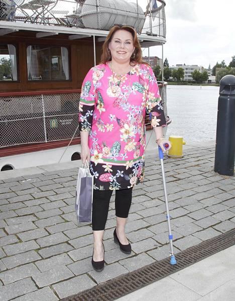 Nina Mikkonen kesällä 2018.