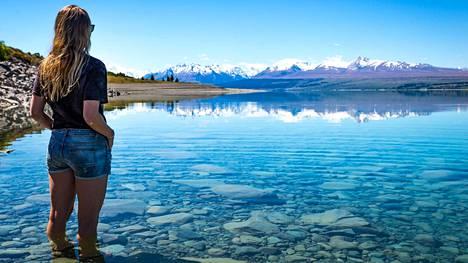 Malla Murtomäki reissaa maailmalla. Uuden-Seelannin Eteläsaaren maisemia on vaikea käsittää ennen kuin näkee ne itse.