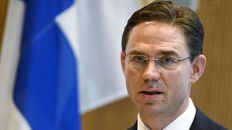 Jyrki Katainen ei pidä presidenttiehdokkaaksi asettautumista todennäköisenä tulevaisuudessakaan.