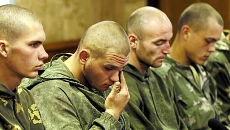 Kymmenen Venäjän armeijan laskuvarjojääkäriä jäi sotavangeiksi Ukrainassa elokuun lopulla
