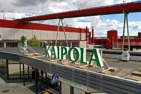 Jämsässä sijaitseva Kaipolan paperitehdas on ollut yksi Suomen suurimmista paperitehtaista.