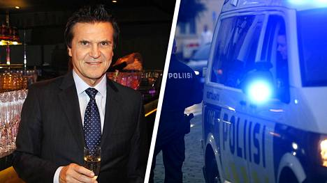 """Poliisi kertoo olevansa kiinnostunut Seppo """"Sedu"""" Koskisen jättijuhlista, ja pyrkivänsä vuoropuheluun yrittäjän kanssa."""