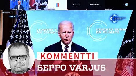 Joe Bidenin ilmastokokous sai maailman johtajat nettiin puhumaan vastuullisesti.