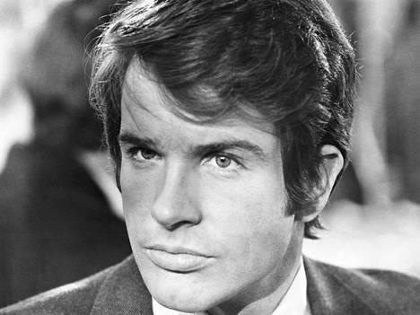 Warren Beatty oli nuorena komea naistenmies.