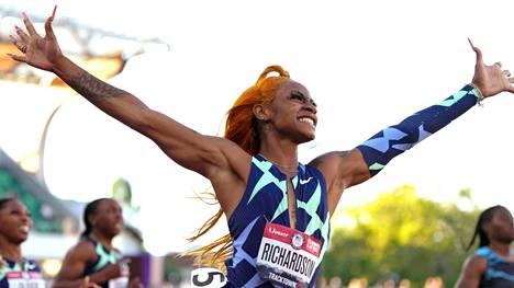 Sha'Carri Richardson juhli 100 metrin voittoa Yhdysvaltain olympiakarsinnoissa. Ilo jäi lyhytaikaiseksi, kun Richardson jäi dopingtestissä kiinni marihuanasta.