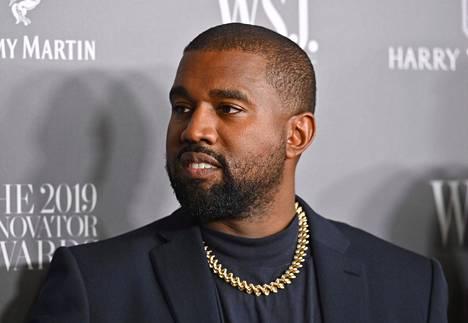 Viihdemoguli Kanye West pyrkii presidentiksi.
