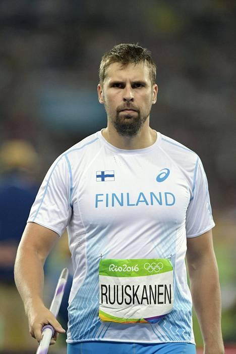Antti Ruuskanen ei halunnut mennä vammojen taakse ruotiessaan kuudetta sijaansa.