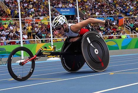Vervoort voitti Riossa olympiahopeaa ja -pronssia.