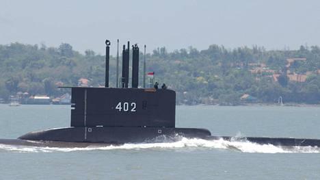 Arkistokuva samanlaisesta sukellusveneestä, jollainen on nyt kateissa.