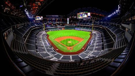 Texas Rangersin kotistadion Globe Life Field.