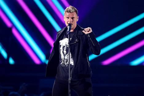 Aaron Carterin veli Nick Carter on tuttu Backstreet Boysista.