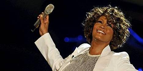 Ongelmistaan toipunut Whitney Houston on käynyt Suomessa kerran aiemmin.