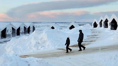 Yksi Aurinkomatkojen kotimaan kohteista on Saariselkä.