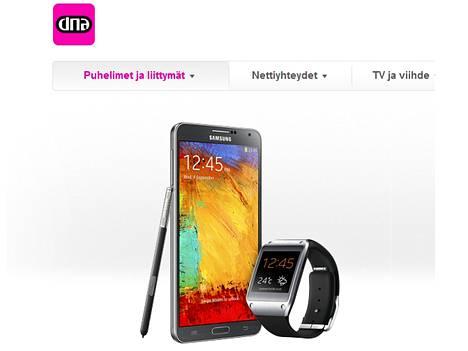 Samsungin Galaxy Note -sarja oli phabletien ensimmäisiä hittejä.