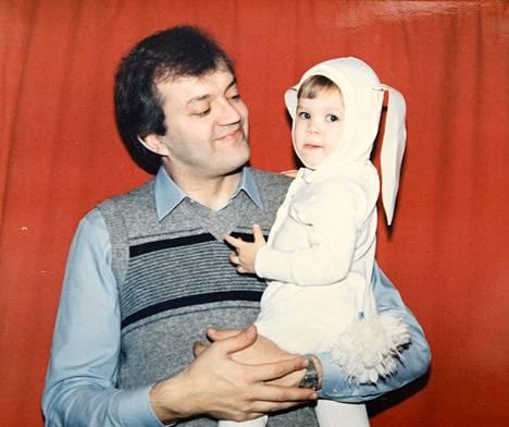 Jari ja Elina Sinkkonen vuonna 1985.
