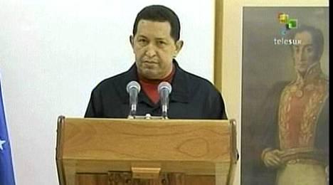 Hugo Chavez päätti spekulaatiot ja myönsi syövän.