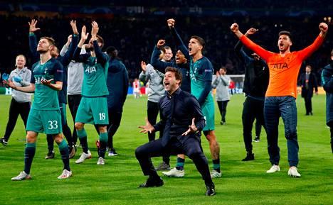 Mauricio Pochettino jää Tottenhamin managerilegendojen joukkoon.