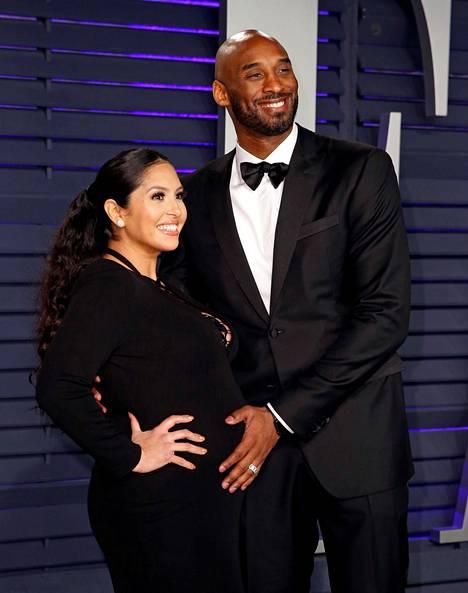 Vanessa ja Kobe Bryantilla oli neljä tytärtä, joista nuorin syntyi kesäkuussa 2019. Kuva on vuoden 2019 keväältä, jolloin Vanessa oli raskaana.