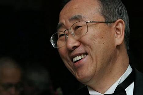 Eteläkorealainen Ban Ki Moon vannoi tänään virkavalansa YK:n uutena pääsihteerinä.