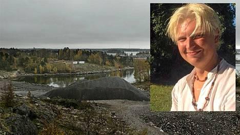 Nainen löydettiin surmattuna Laajasalon vanhasta öljysatamasta. Poliisi otti kiinni nuoren kokoomuspomon Jukka Romppaisen, jota epäillään todennäköisin syin murhasta.