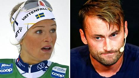 Ruotsin nuori hiihtotähti Frida Karlsson haluaa vuorostaan tukea vaikeuksiin ajautunutta Petter Northugia.