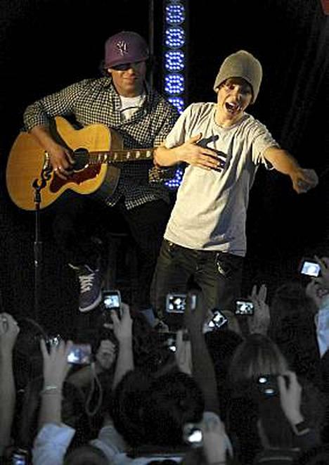 Justin Bieber esiintyi yksityiskeikalla Uudessa-Seelannissa.