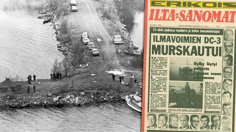IS kertoi turmasta 40 vuotta sitten.