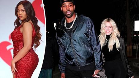 Jordyn Woodsin väitetään aiheuttaneen Khloé Kardashianin ja Tristan Thompsonin välirikon.